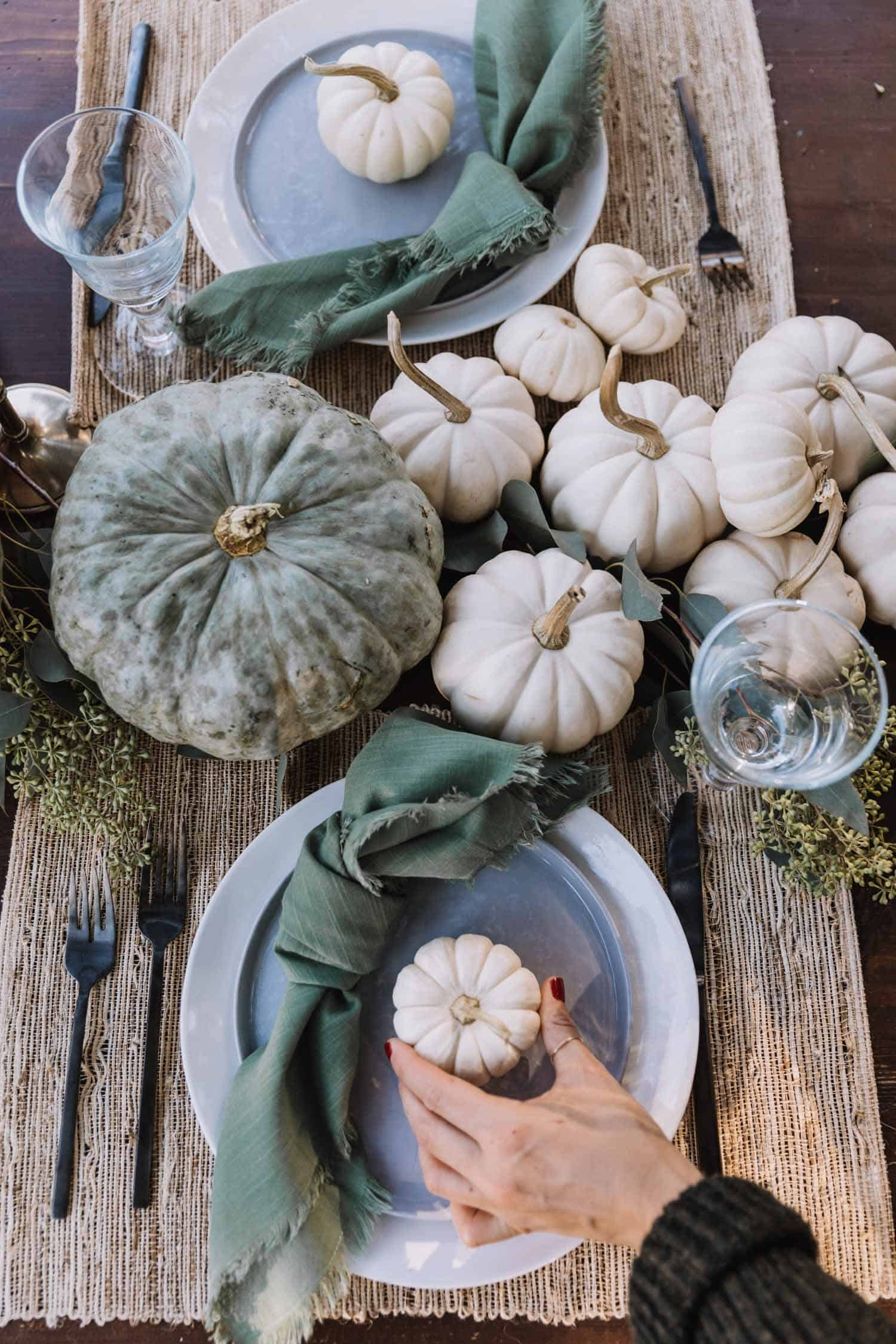 A Pastel Pumpkin Tablescape For Fall Entertaining