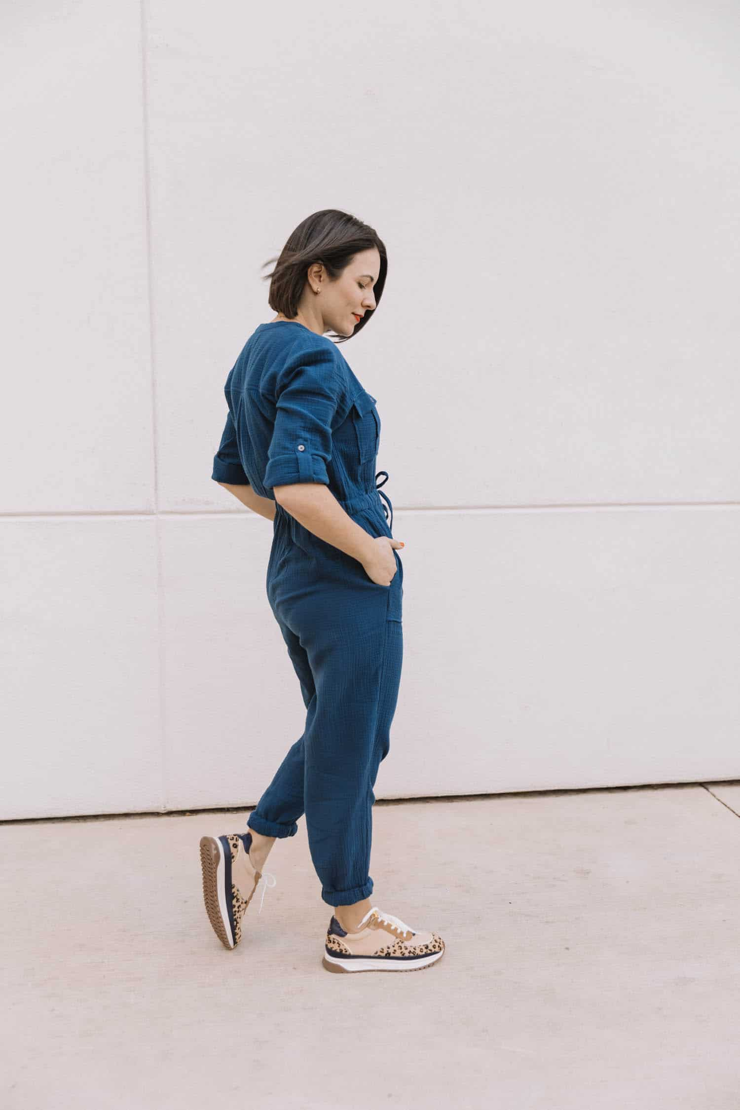 madewell cotton jumpsuit