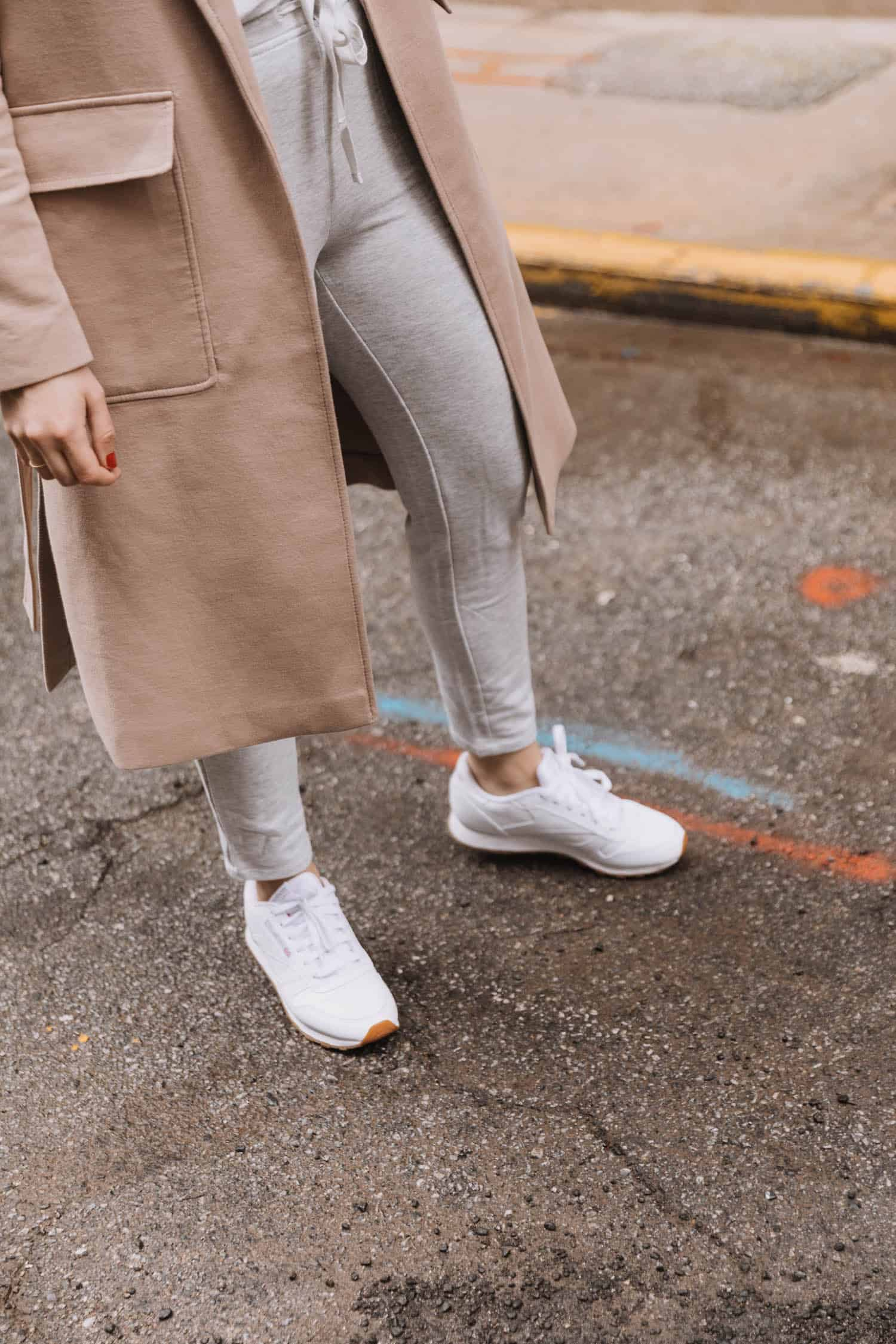 how to style lou & grey loungewear | reebok sneakers