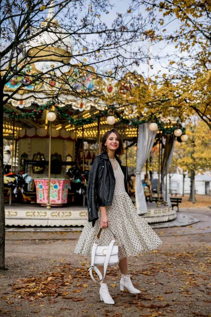 Paris Style Outfits With Dresses
