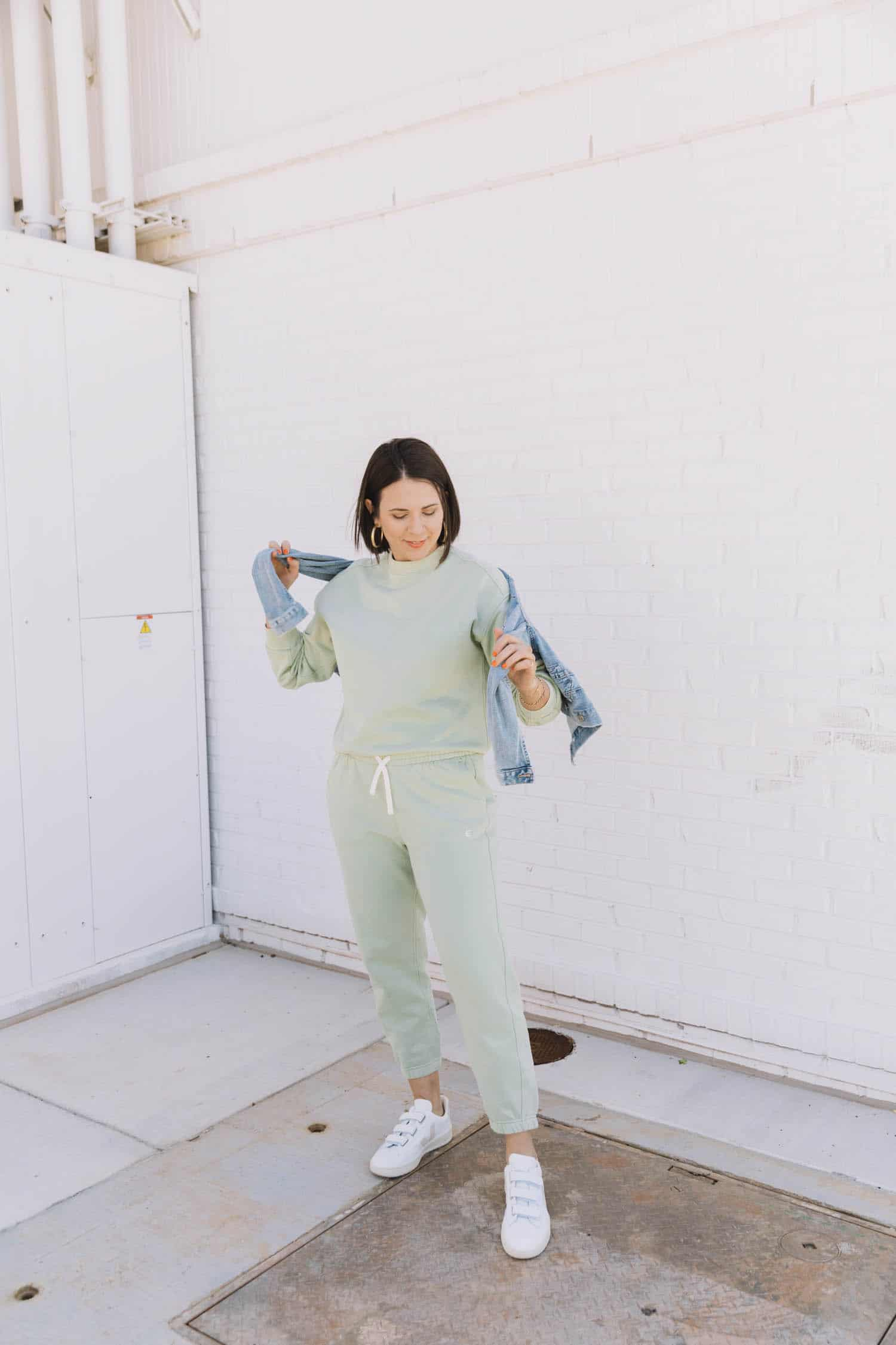 Minty Green tracksuit | Everlane tracksuit