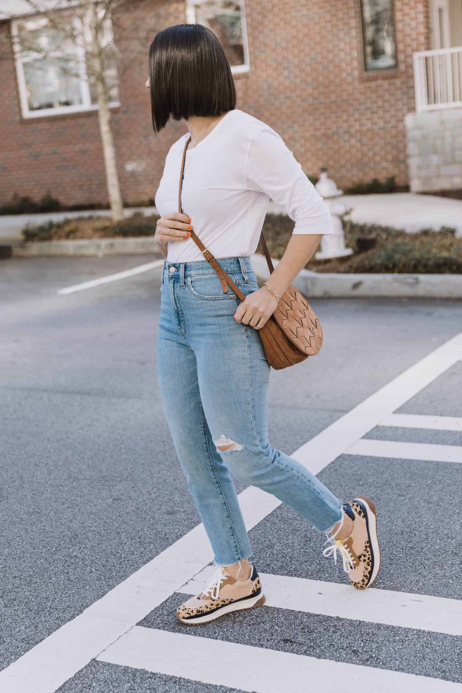 With Jeans And A Tee