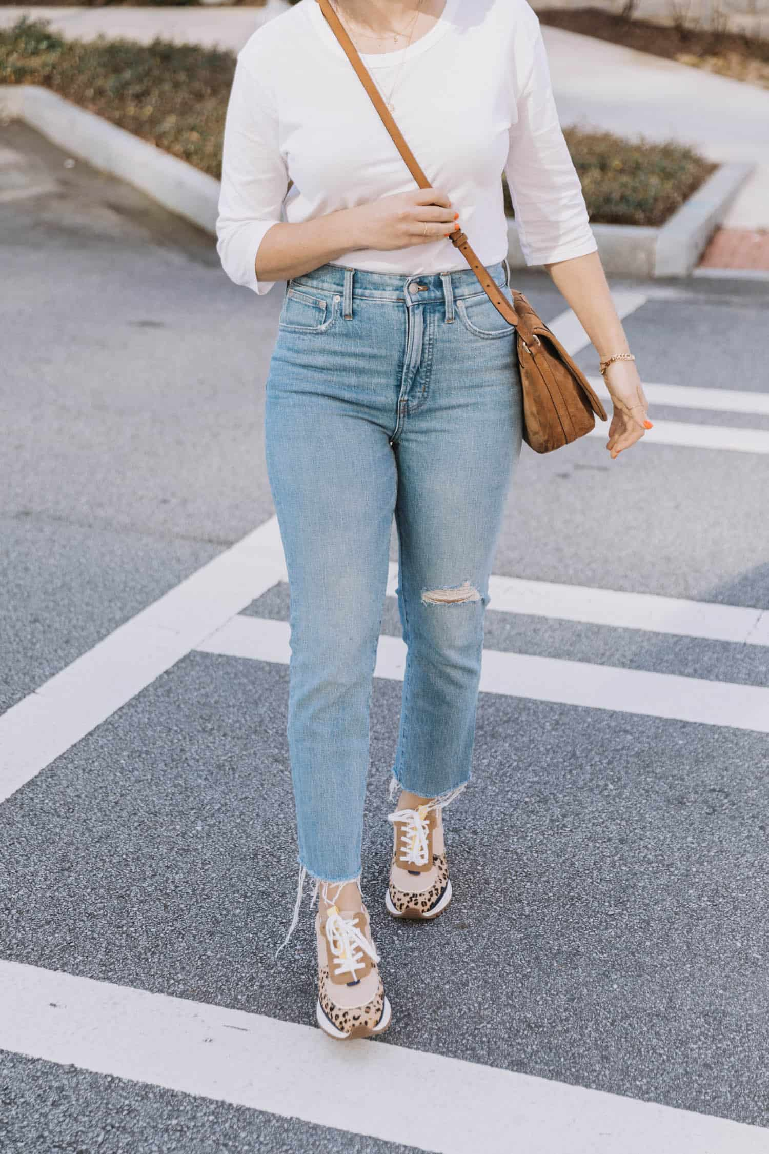 Madewell Trainers Review and jeans