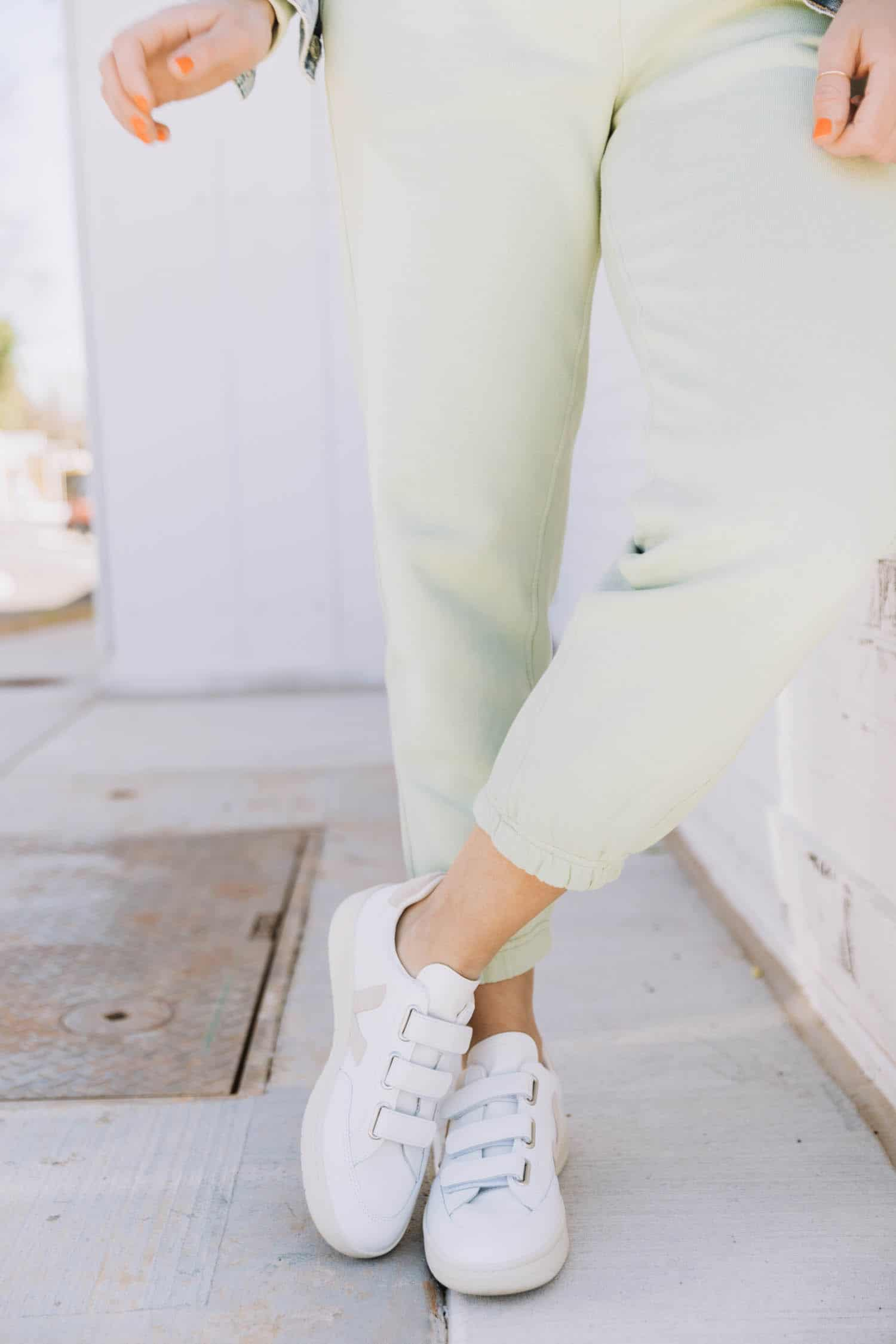 Color Crushing On Minty Green | green joggers
