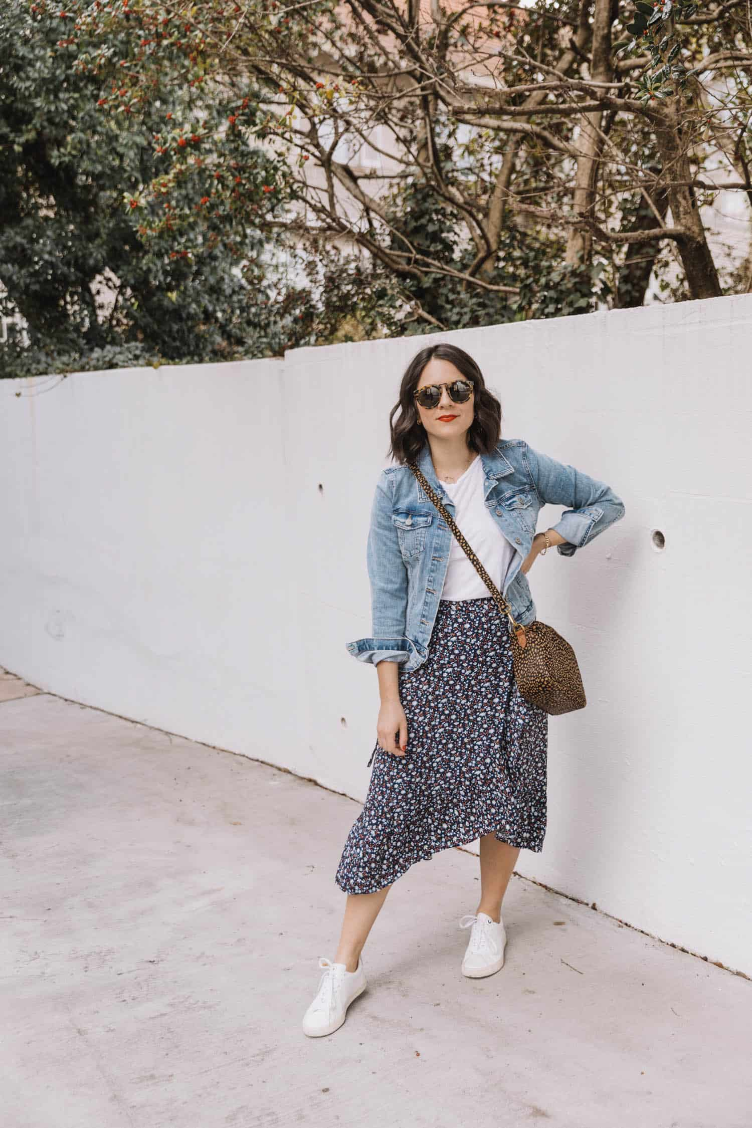 Cute Floral Midi Skirts For Spring + Summer