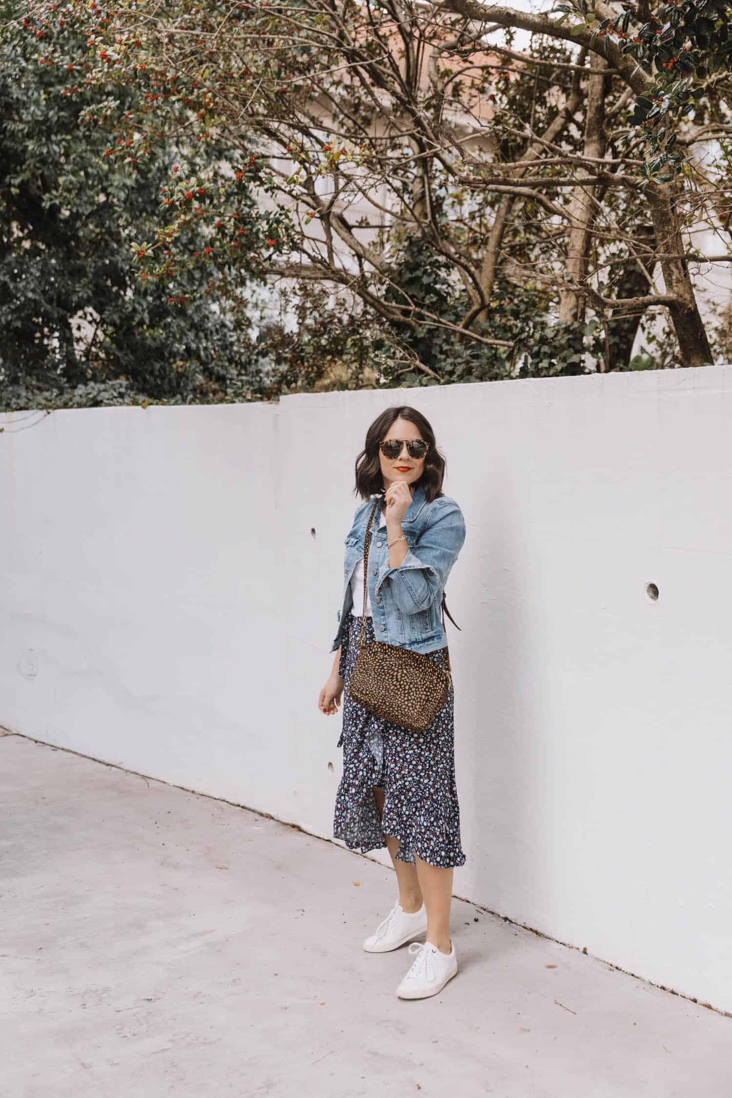 ways to style a midi skirt
