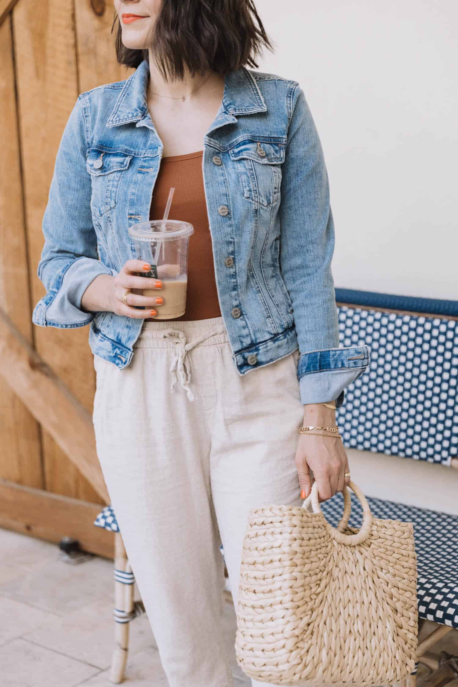 Linen Joggers For Spring