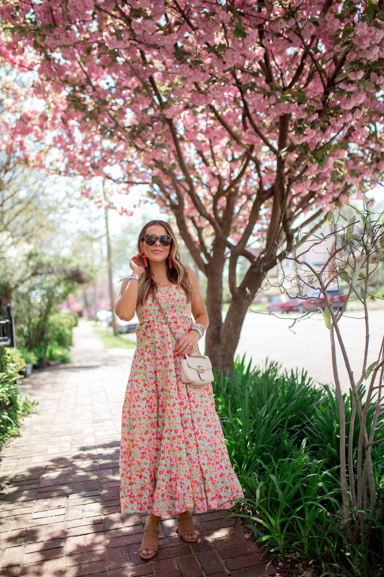 How To Style A Maxi Dress For Spring