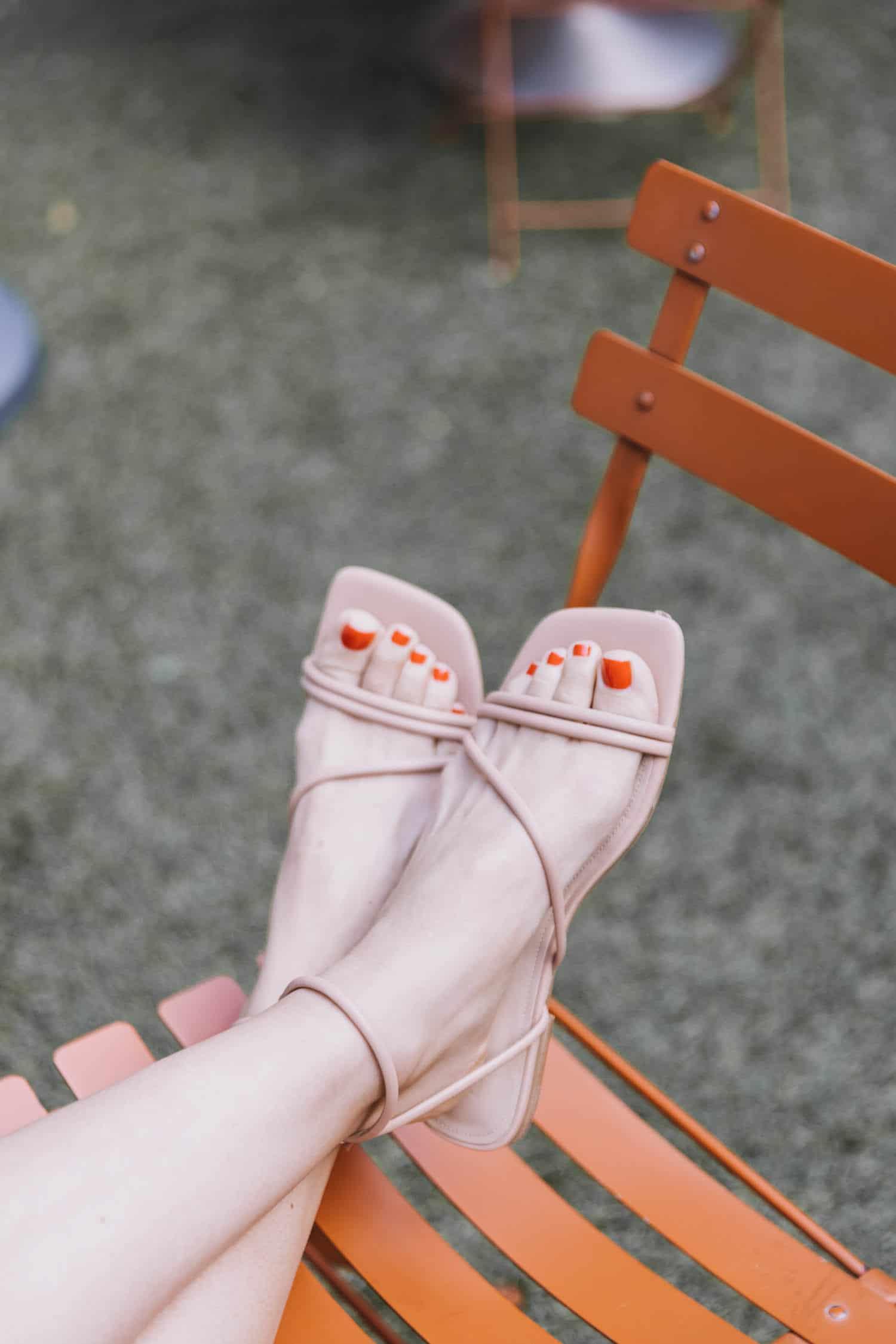 nude summer sandals