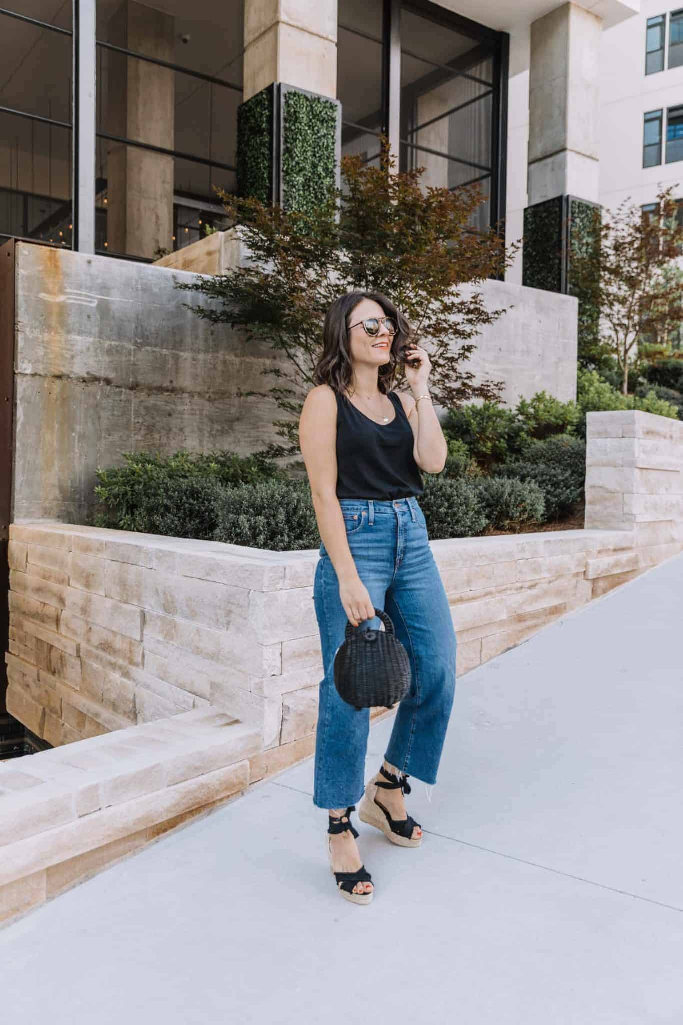 how to wear black outfits in summer