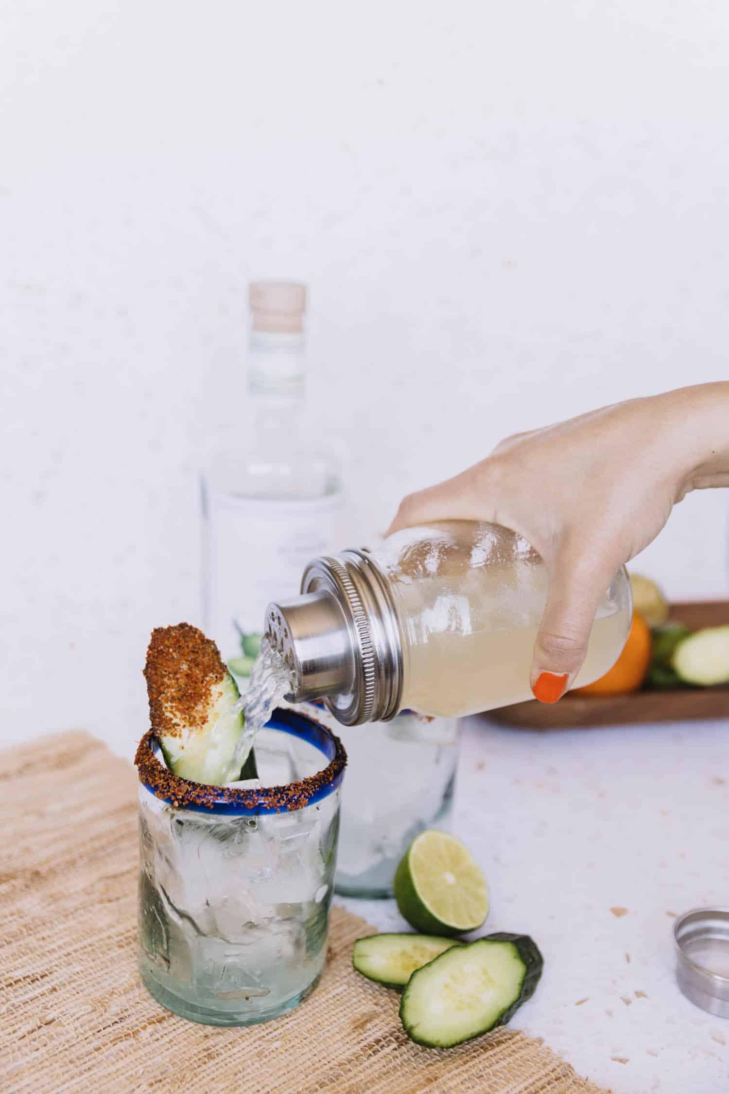 Easy Spicy Cucumber Margarita Recipe
