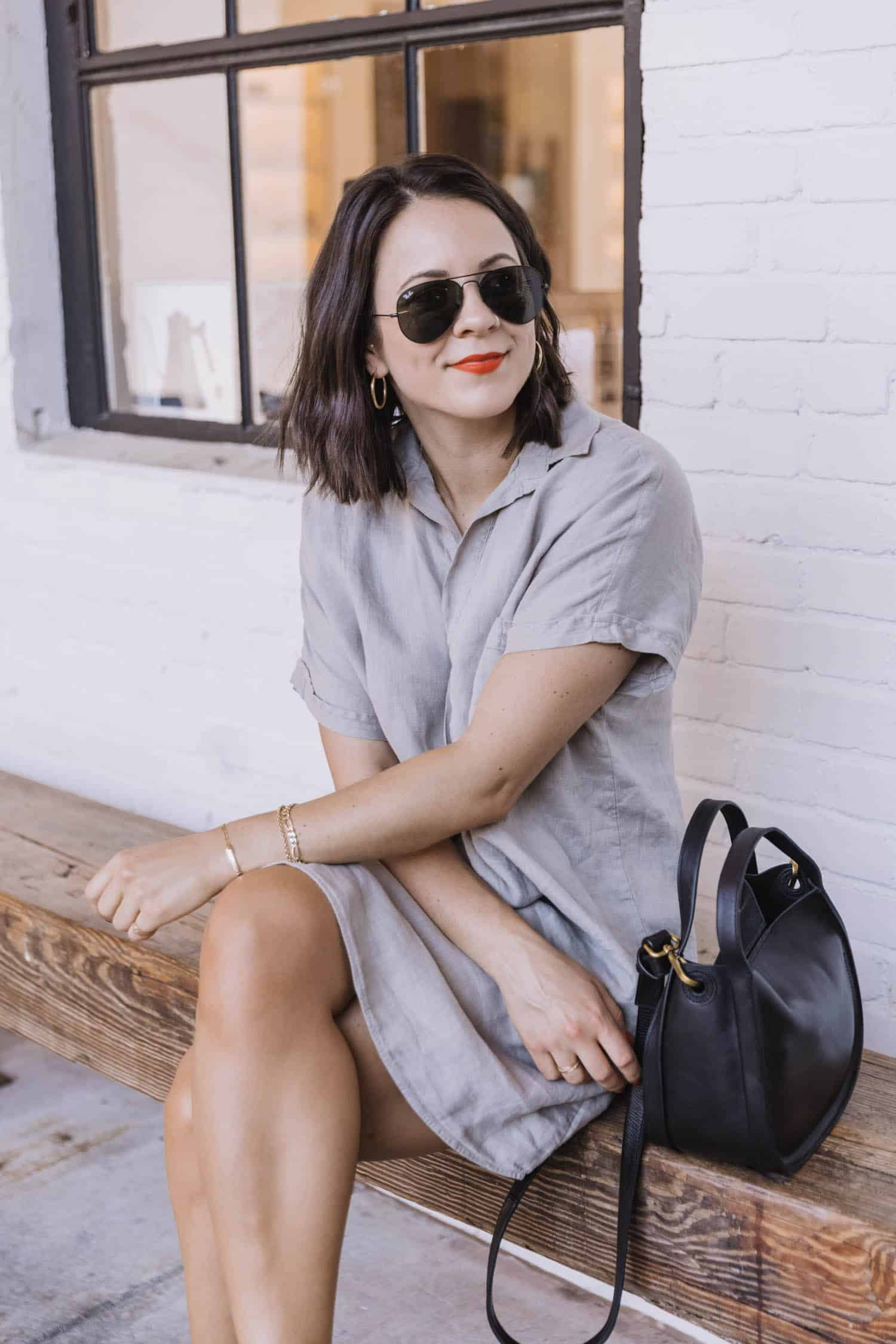 How To Style The Grayson Artist Shirt Dress