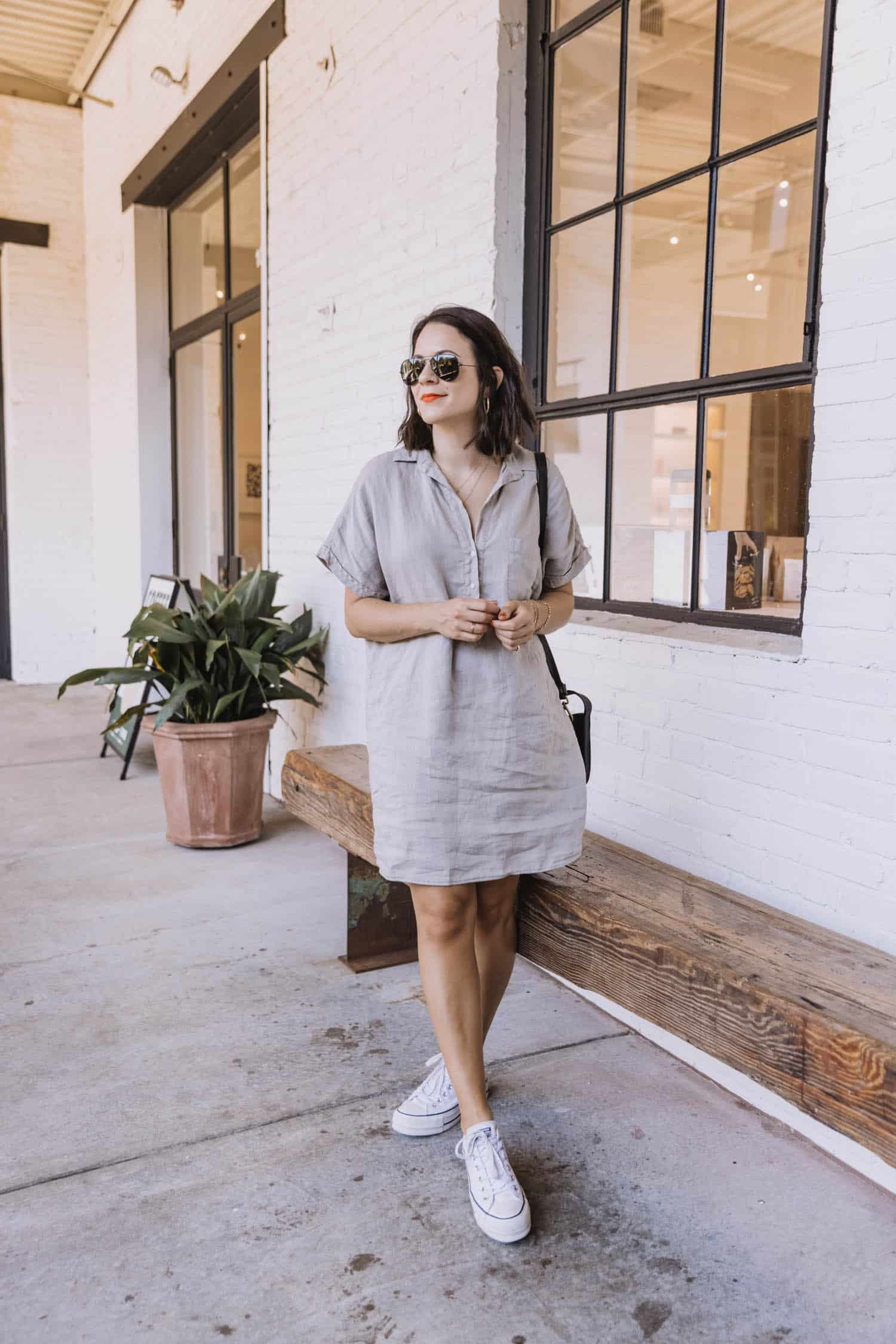Grayson Artist Shirt Dress Review