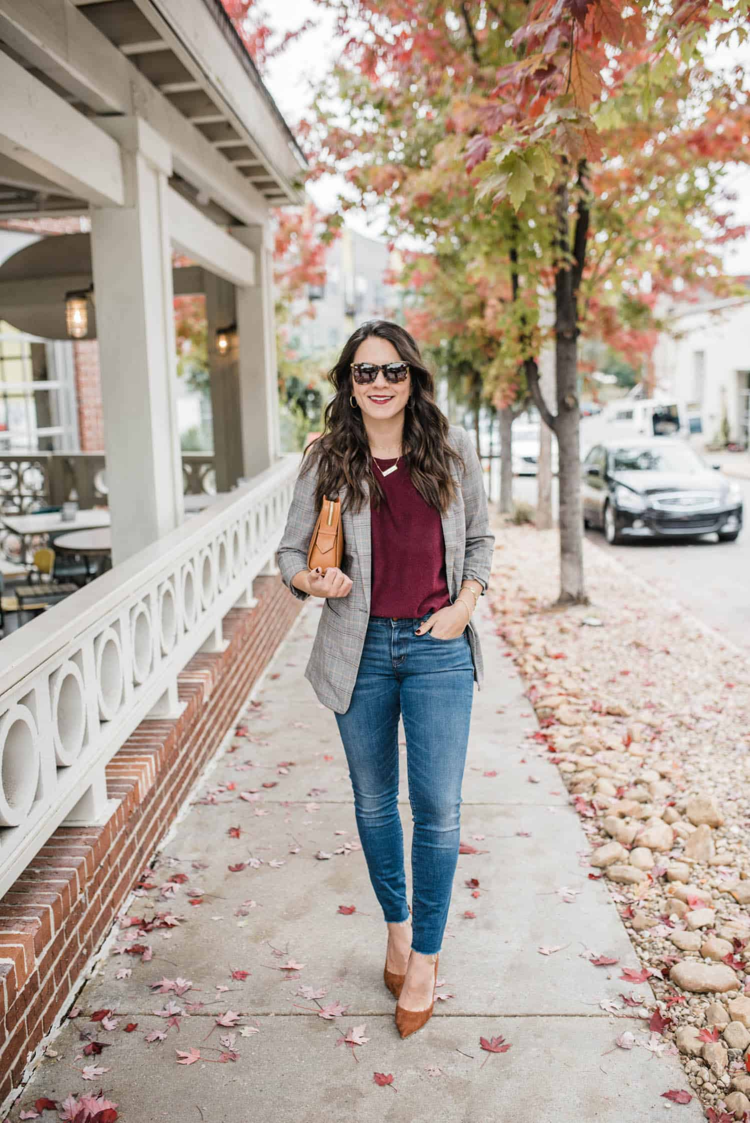 How To Style A Blazer Business casual outfit