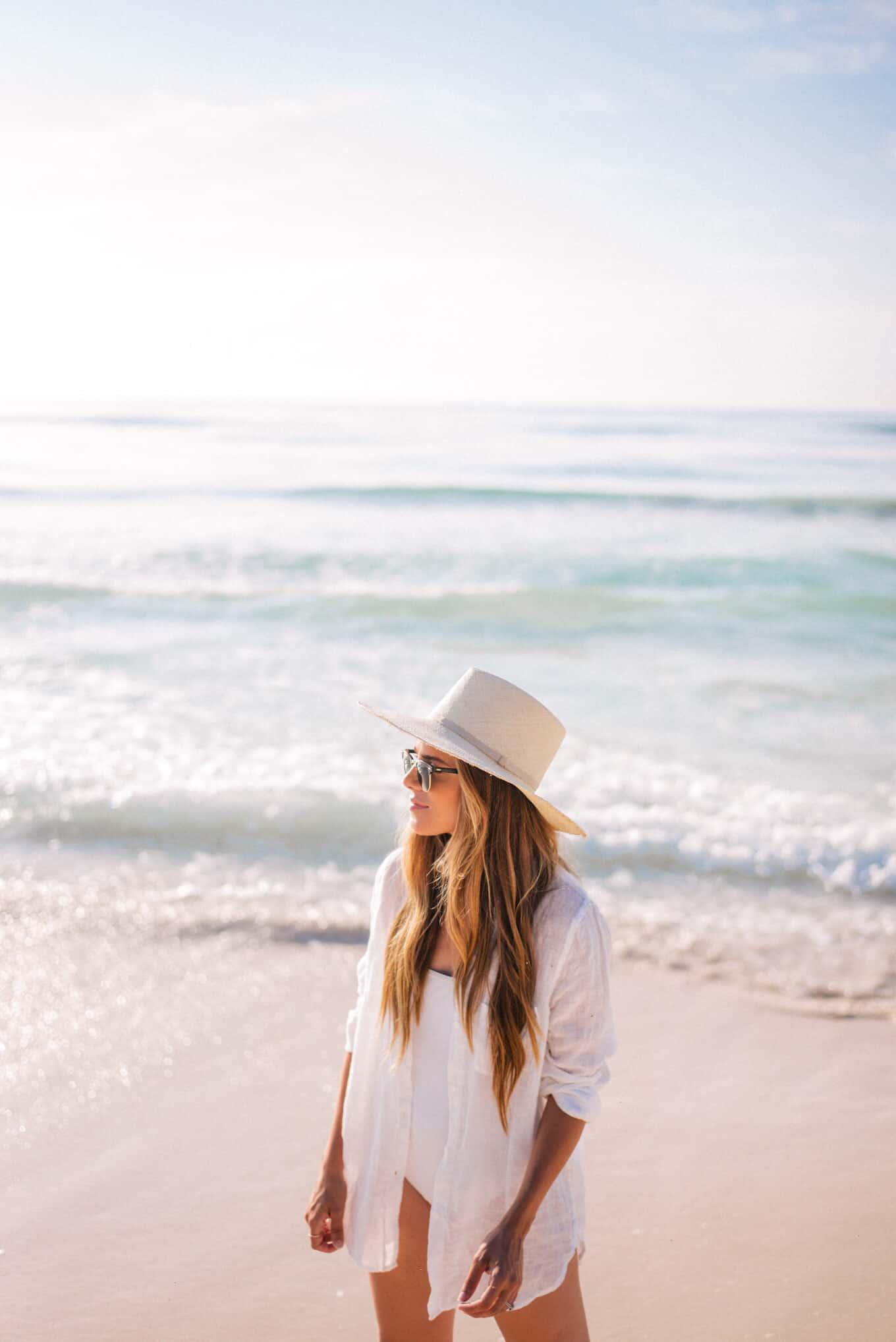 Linen Button Down for the beach