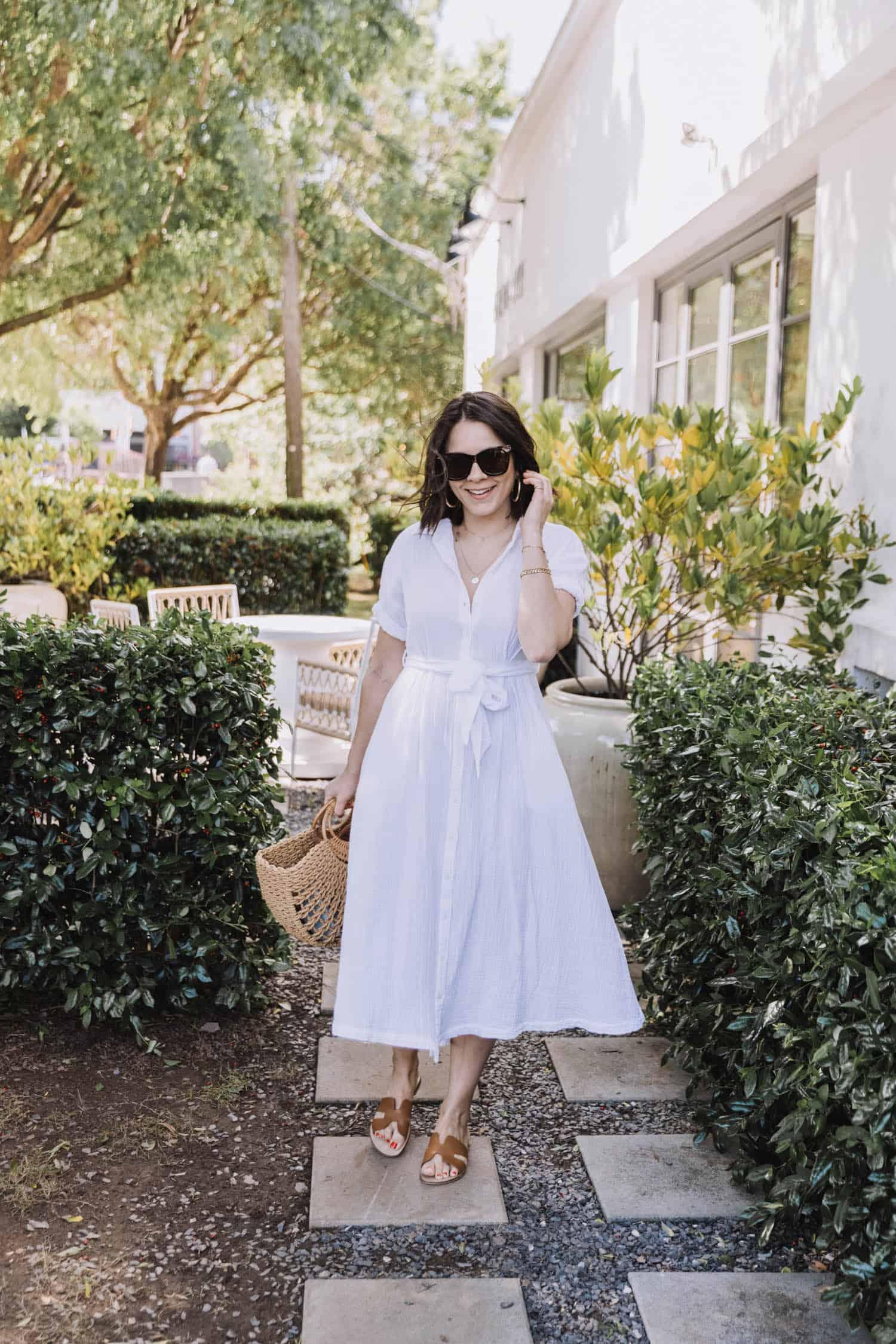 Xirena white summer dress