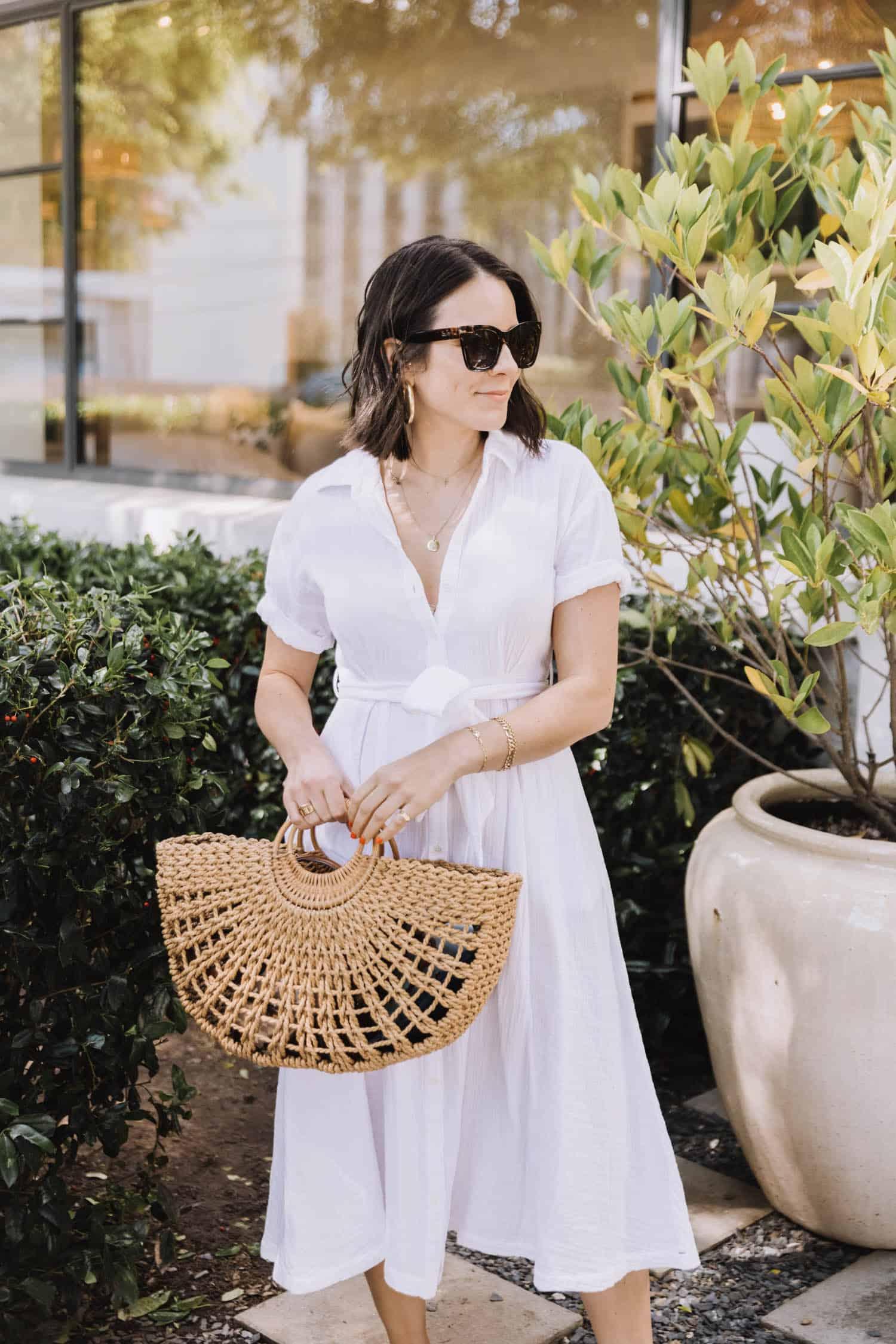 Xirena white dress