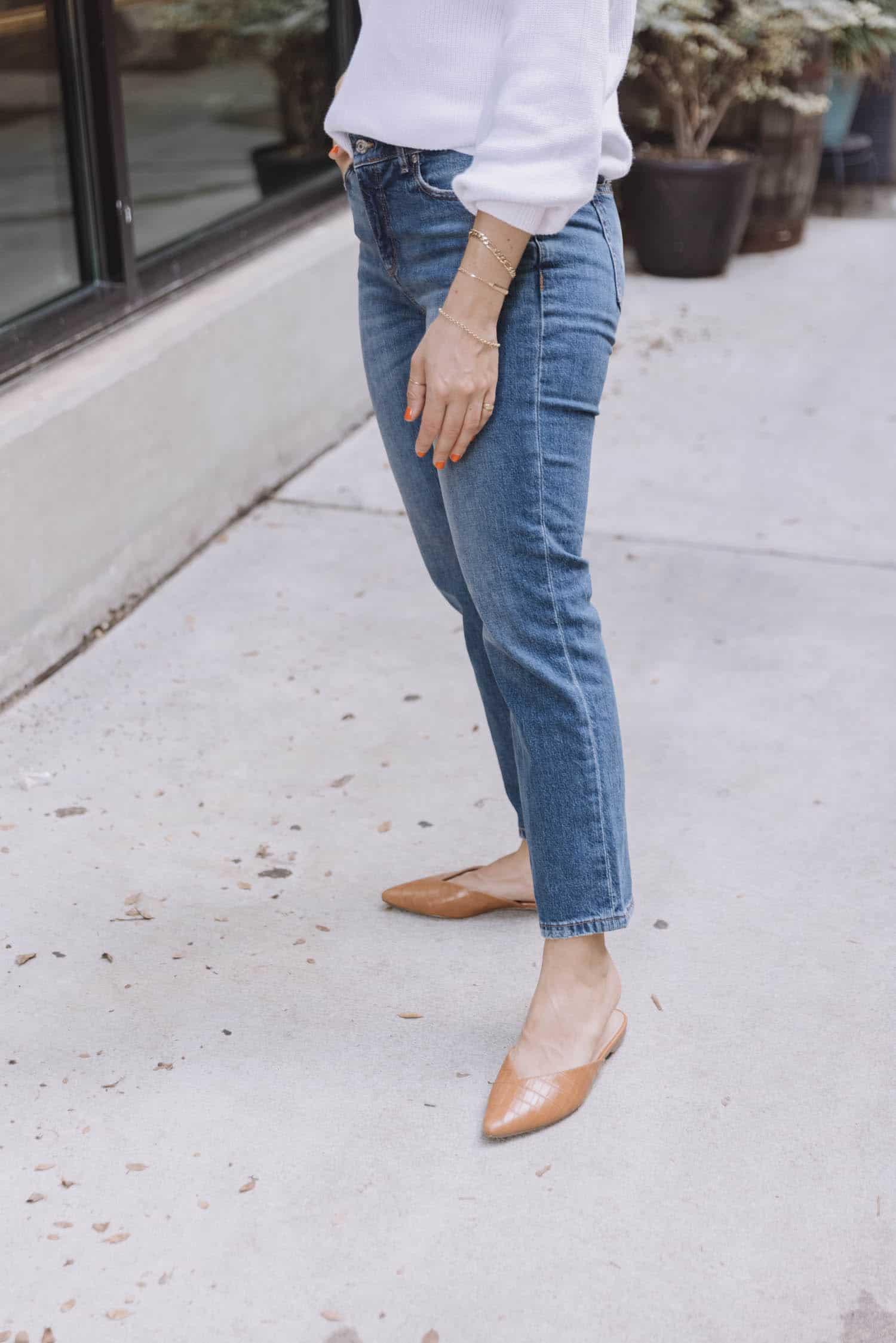 LOFT Denim Straight jeans