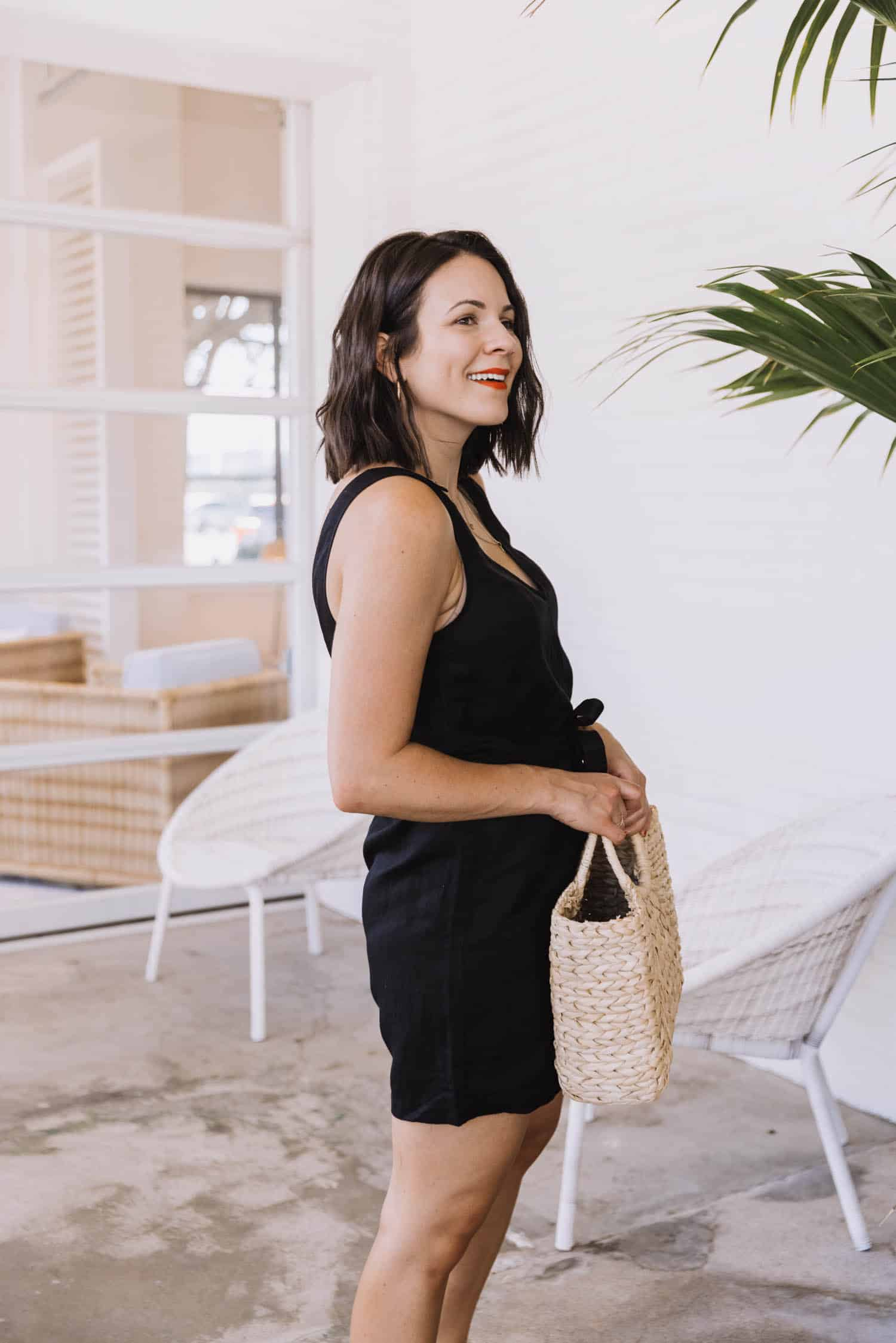 Two Ways To Style A Black Romper For Summer