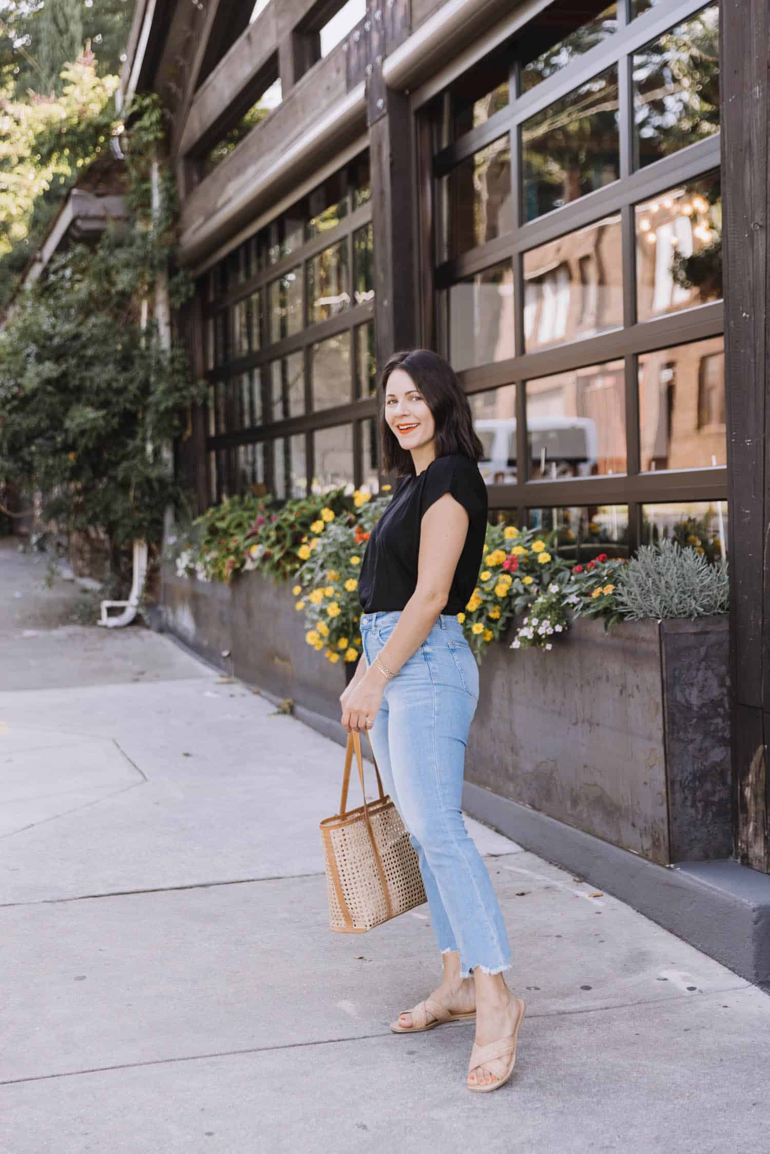 LOFT Lightwash Kick Crop Jeans | The Pieces Im Reaching For The Most