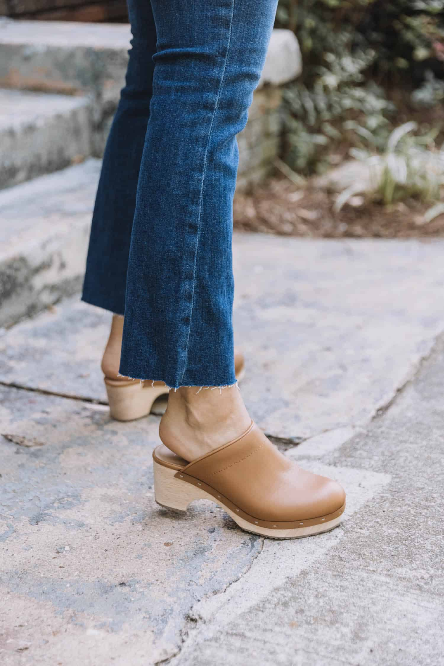 How I Plan On Styling Clogs For Fall