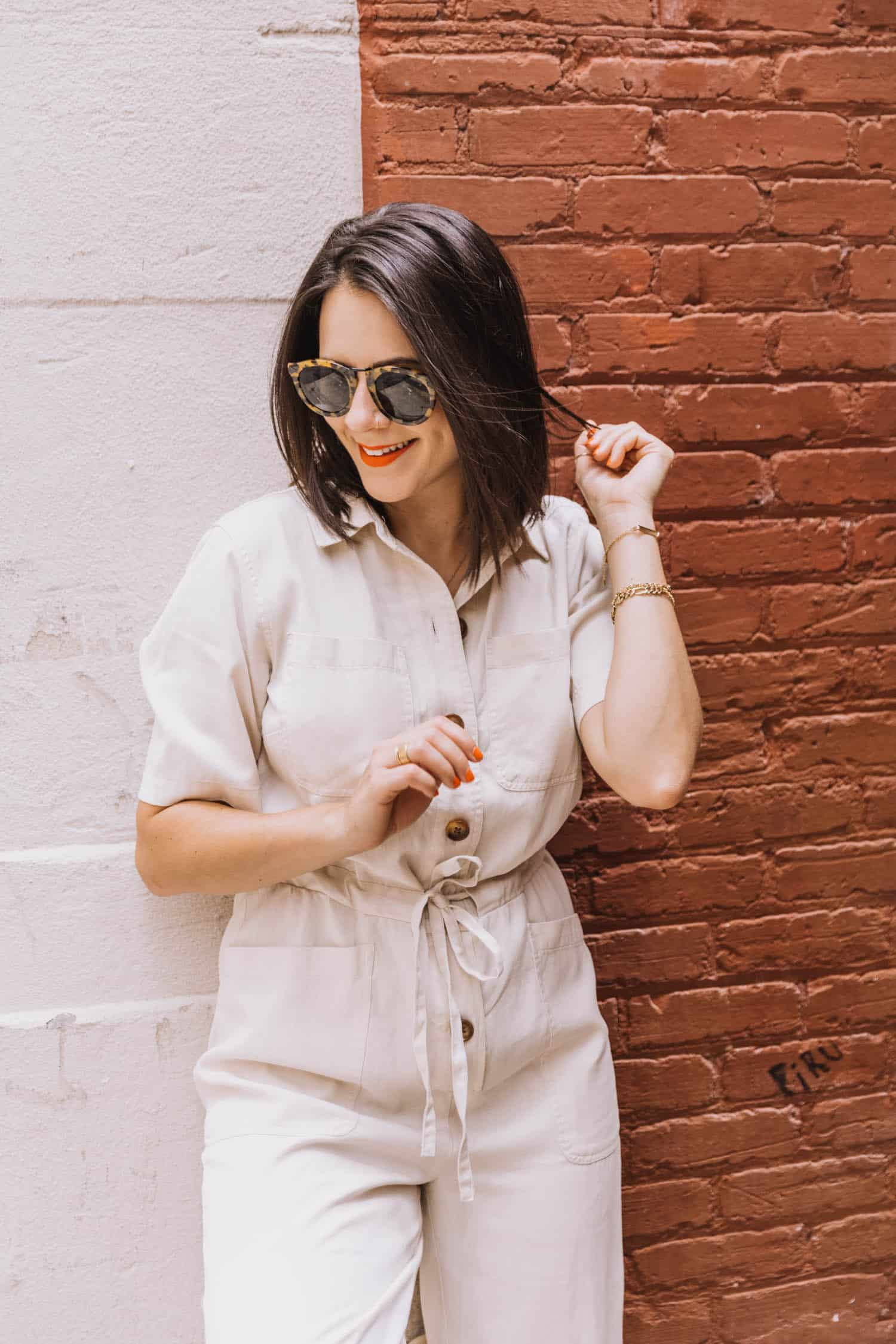 How to alter length of jumpsuits