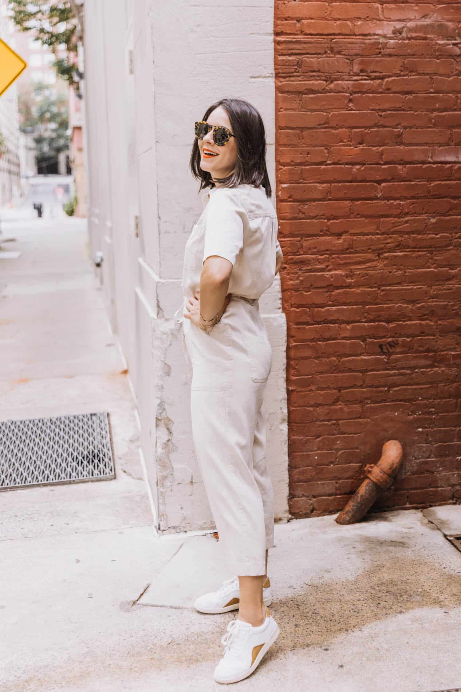 Marine Layer Jumpsuit Outfit