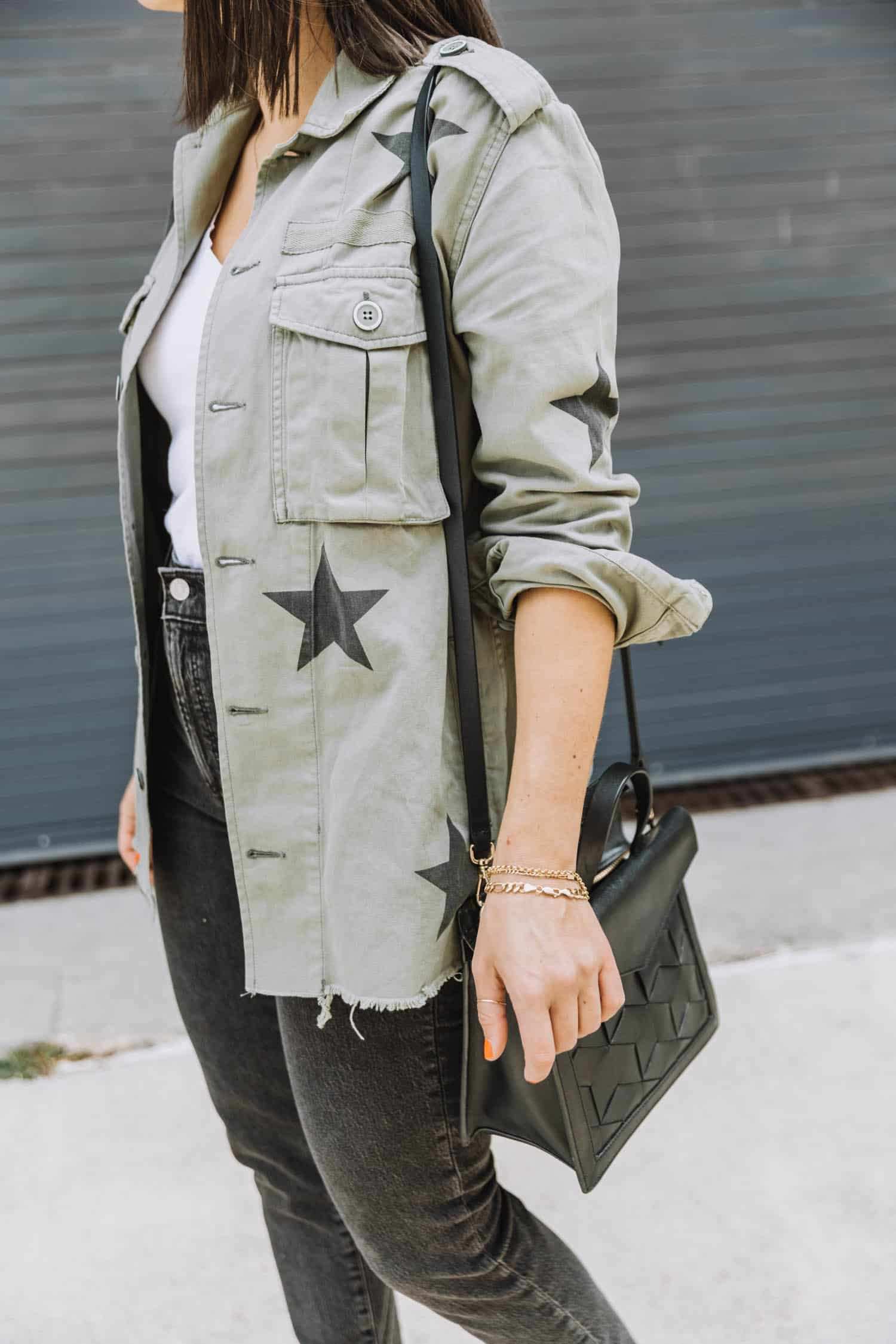 Taking My Utility Jacket Into Fall