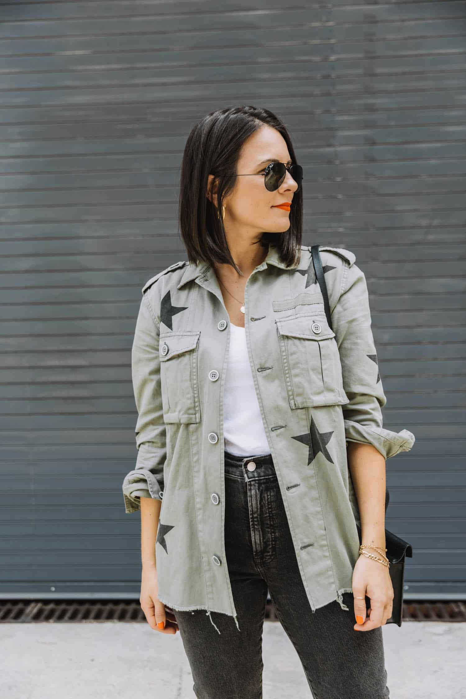 Utility jacket outfit ideas