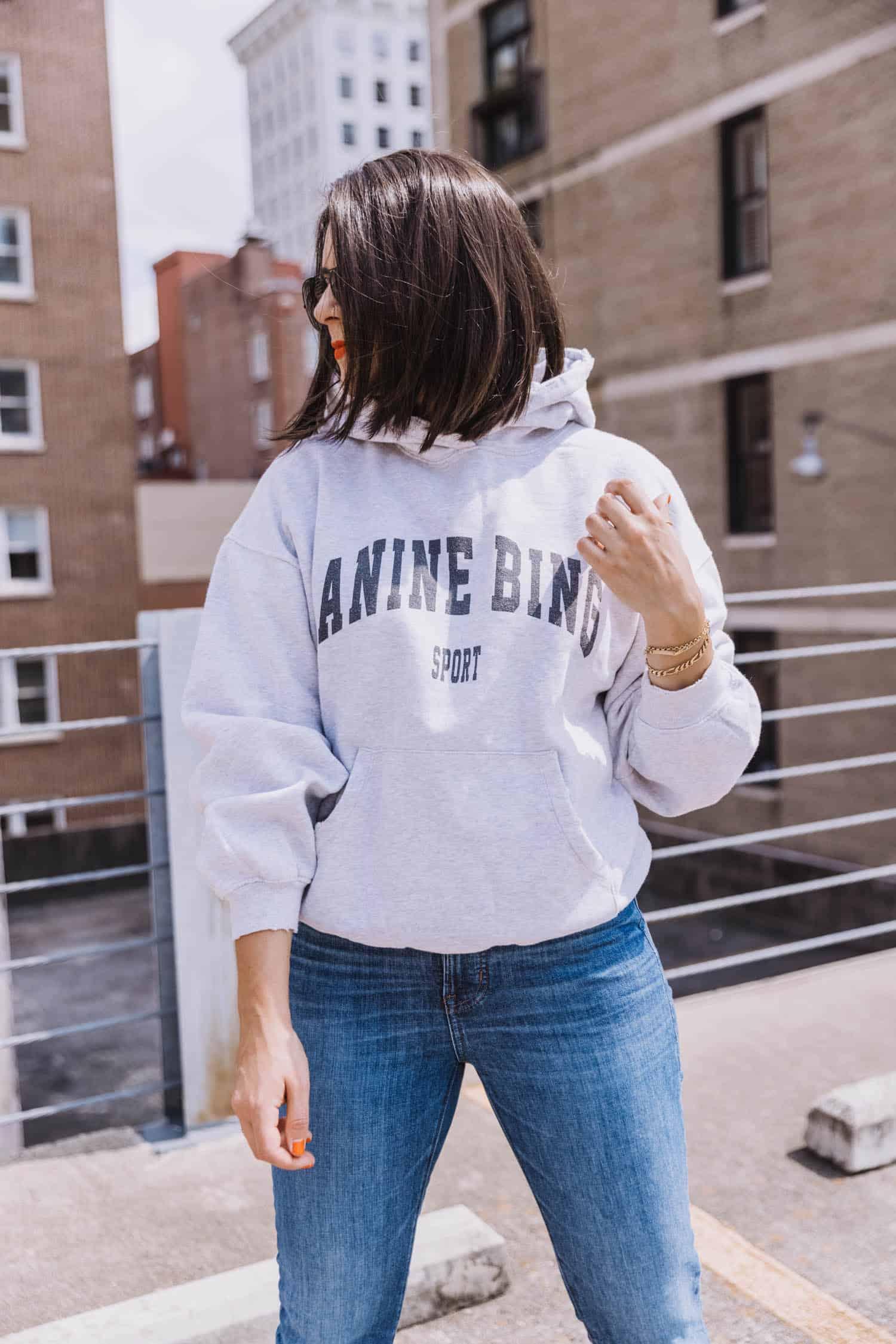 Anine Bing sweatshirt hoodie