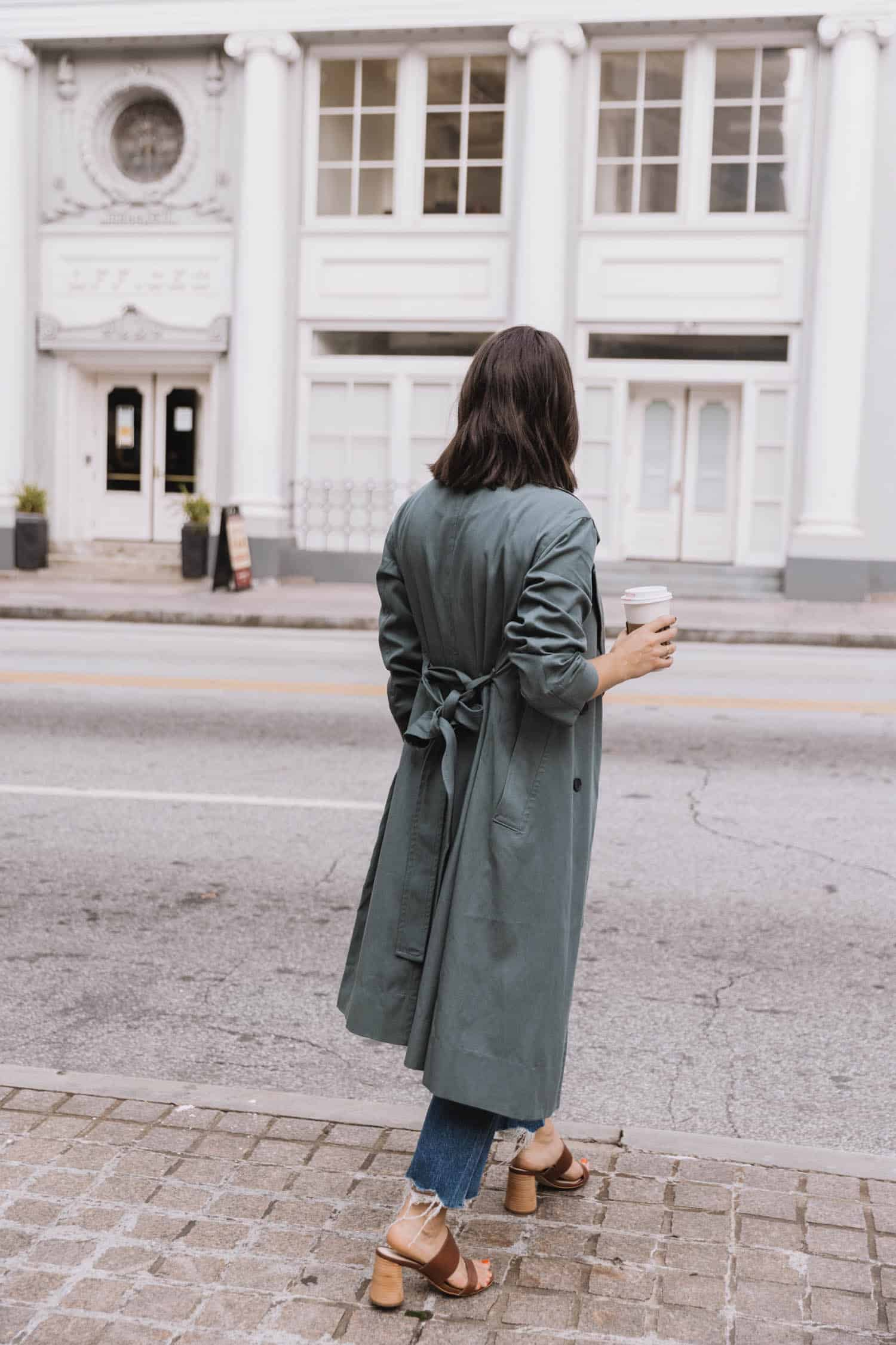 Everlane trench review