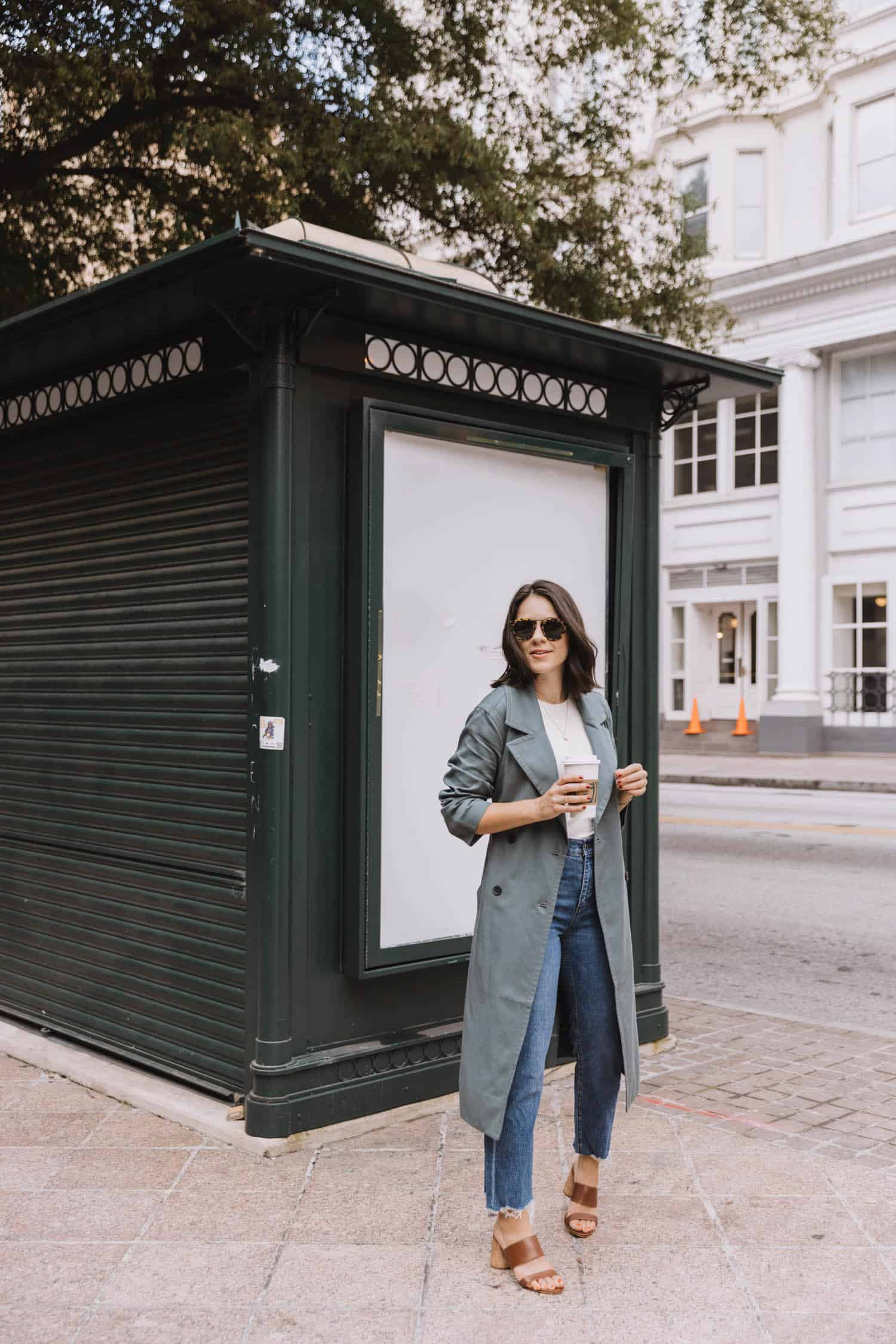 Why I Love A Light Trench For Fall