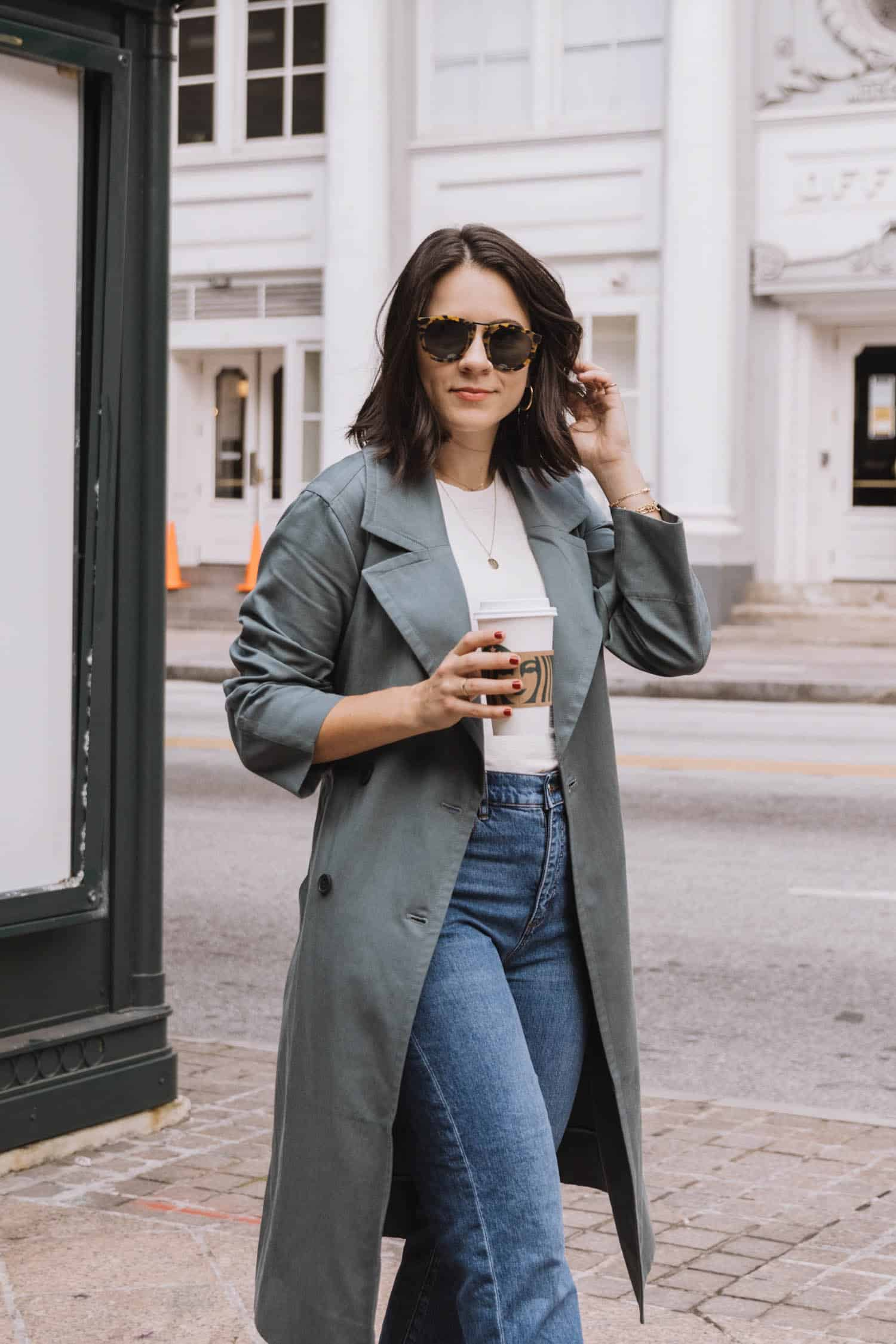 How to style a trench coat for early fall