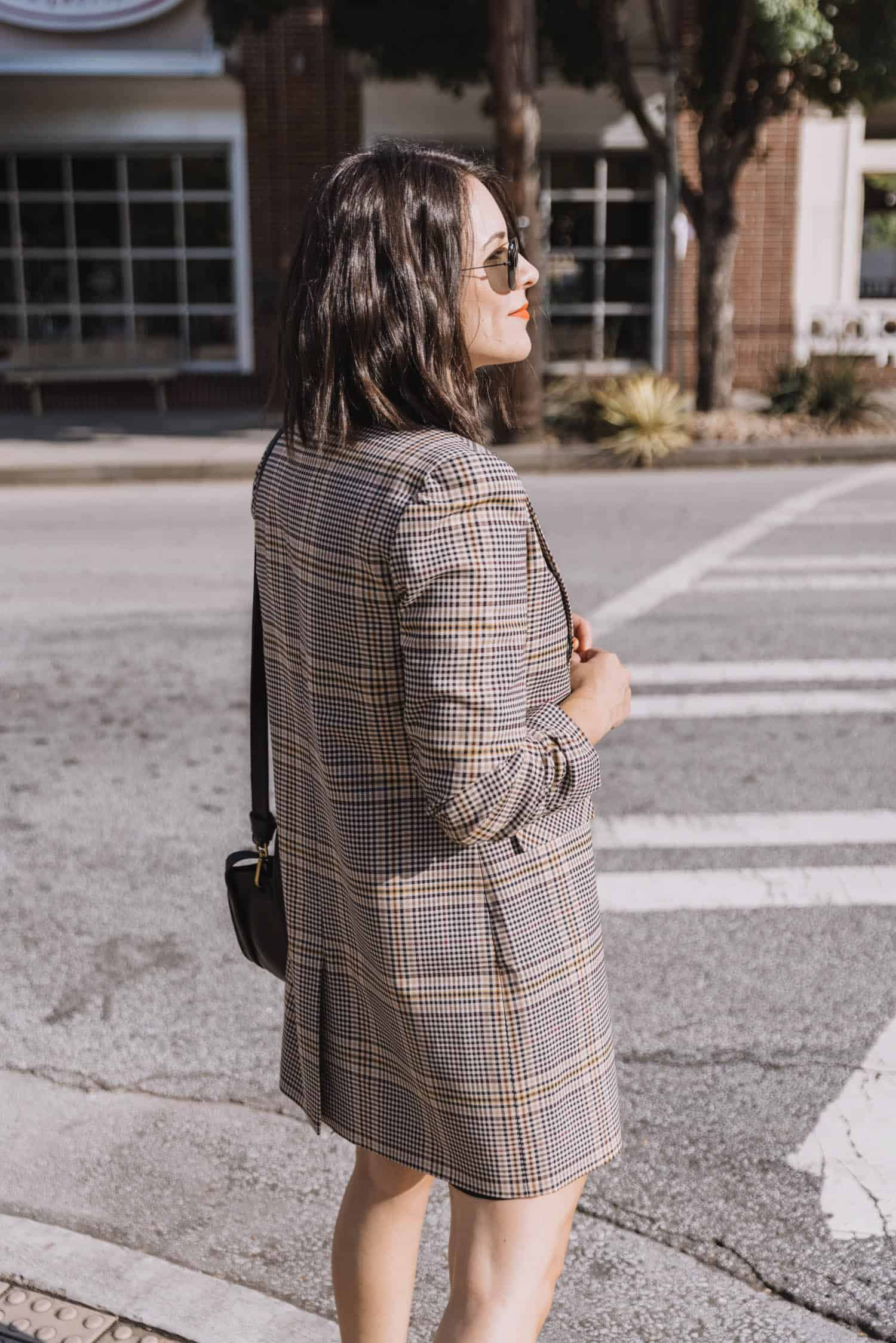Blazer fall outfit