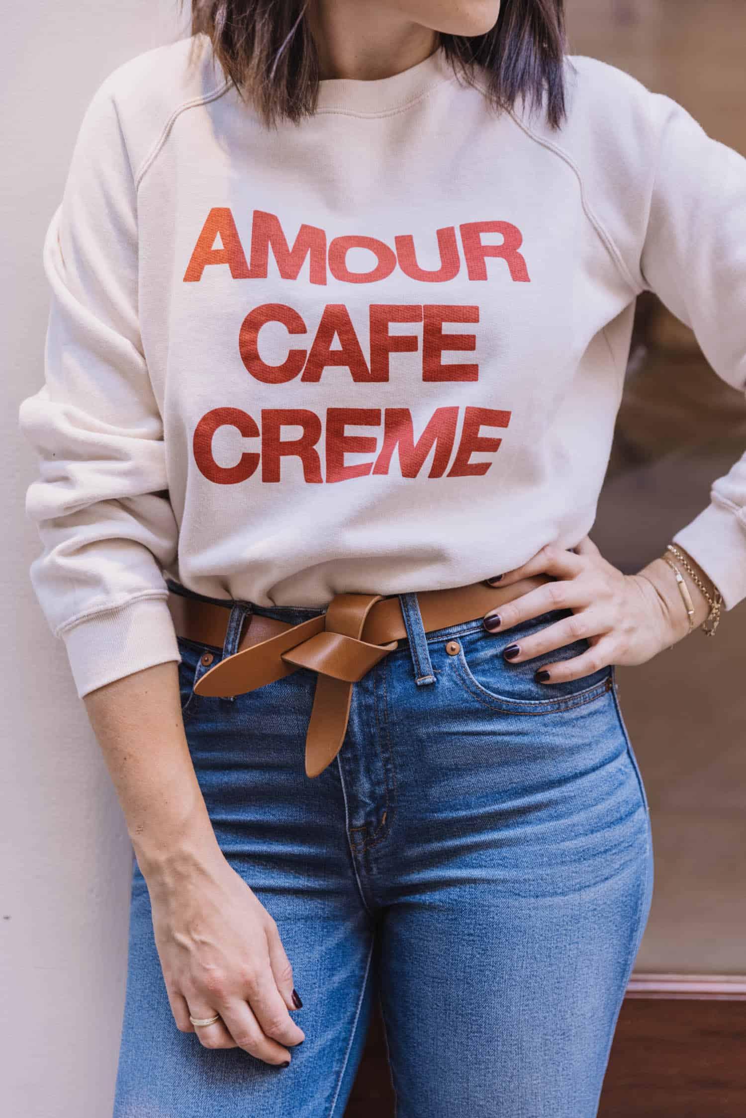 Sezane Amour Sweatshirt