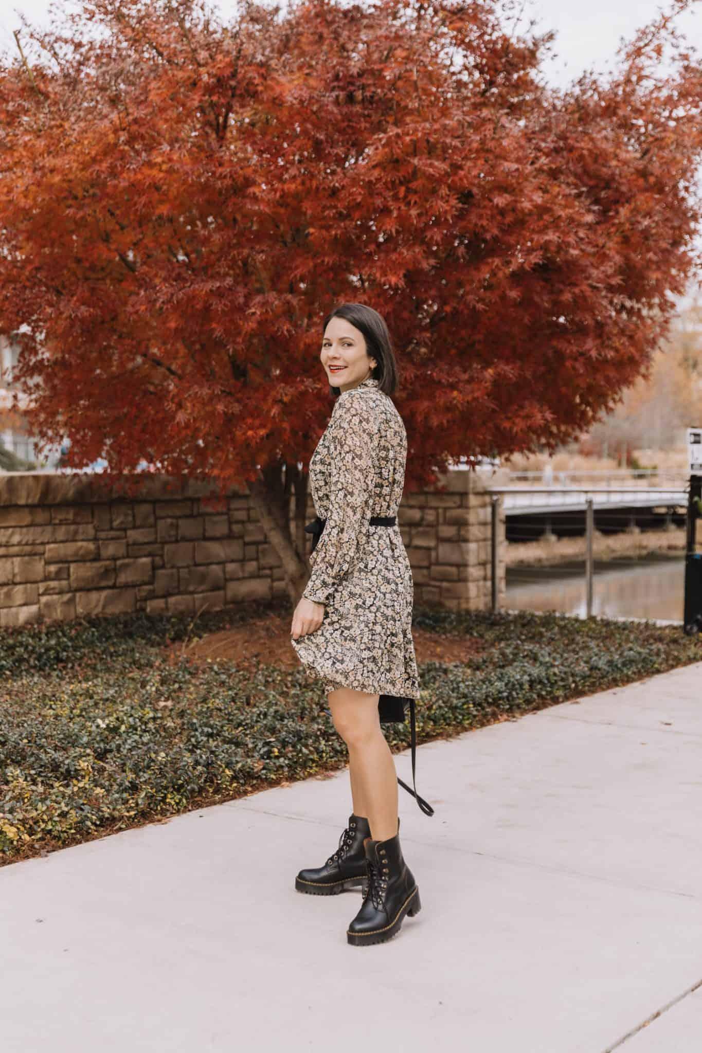 fall dress outfits