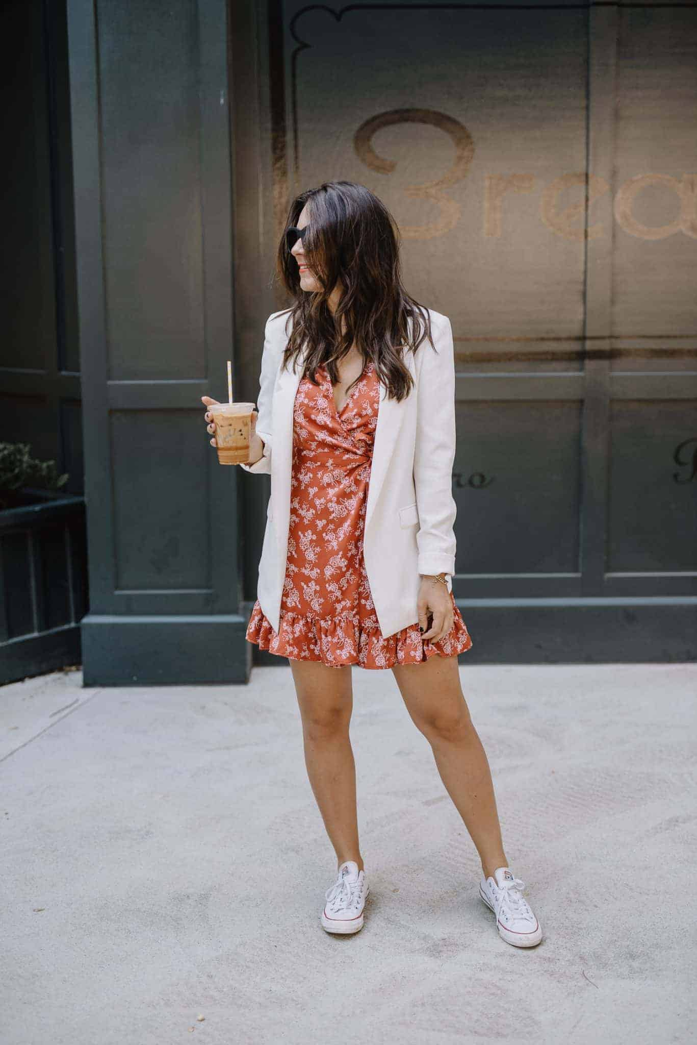 ways to wear blazers in summer