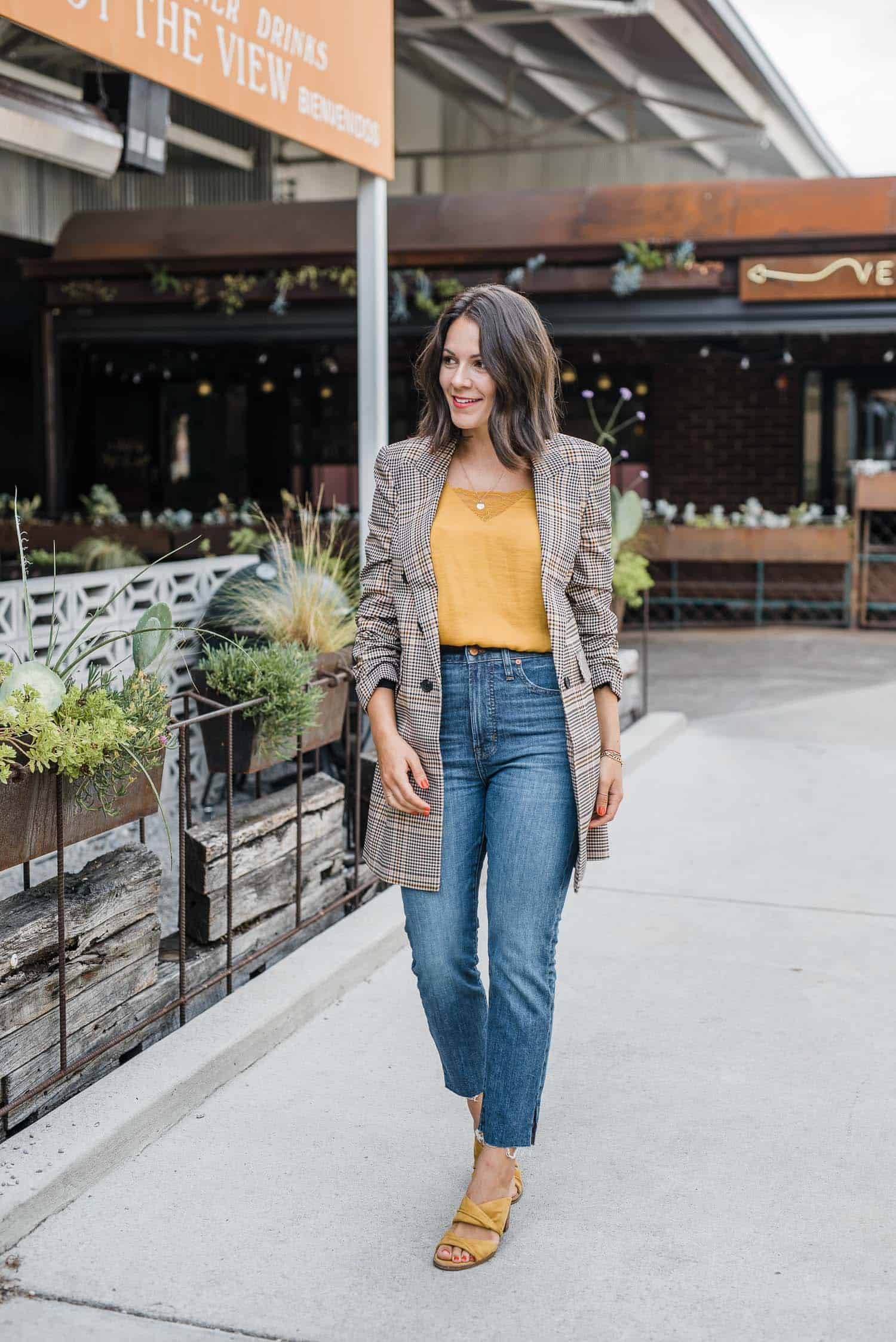 How To Style A Blazer for work